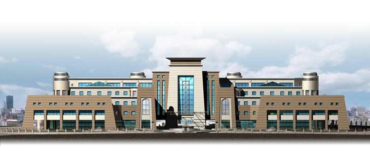 مشروع محكمة بالشارقة Sharjah Courts  Front-r