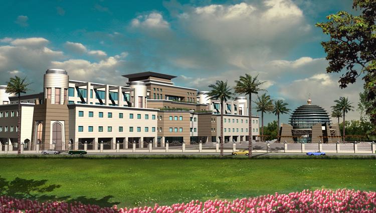 مشروع محكمة بالشارقة Sharjah Courts  Persp4